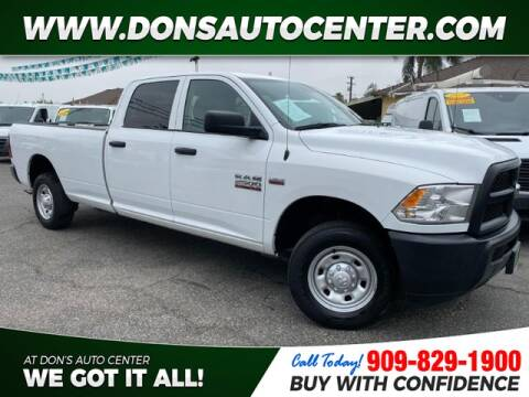 2018 RAM Ram Pickup 2500 for sale at Dons Auto Center in Fontana CA
