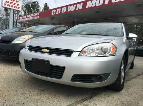 2010 Chevrolet Impala for sale in Colonial Heights, VA