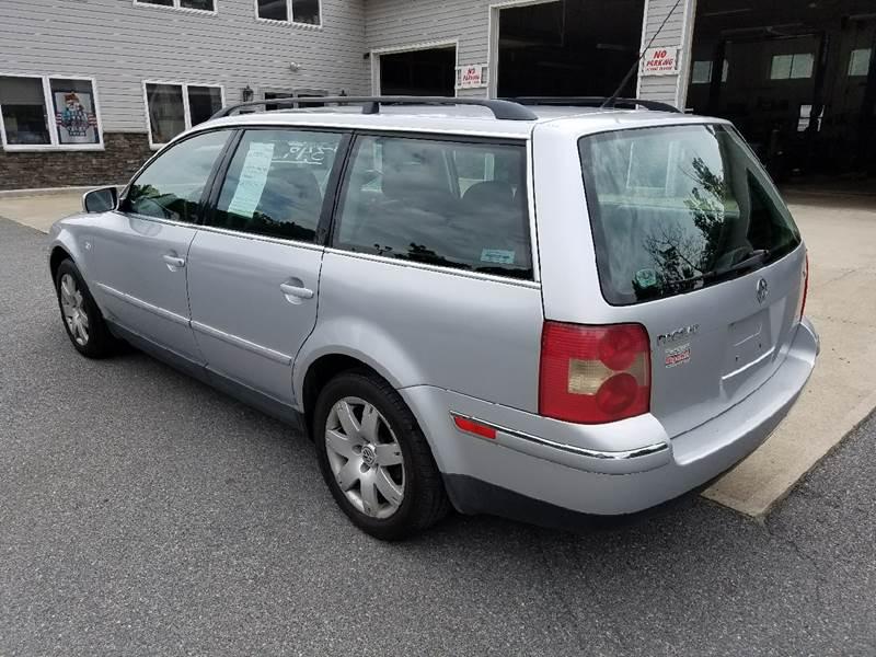 2002 Volkswagen Passat for sale at Lee Miller Used Cars & Trucks Inc. in Germansville PA