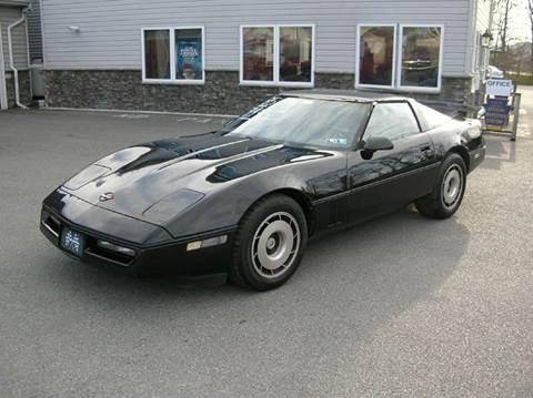 1985 Chevrolet Corvette for sale at Lee Miller Used Cars & Trucks Inc. in Germansville PA