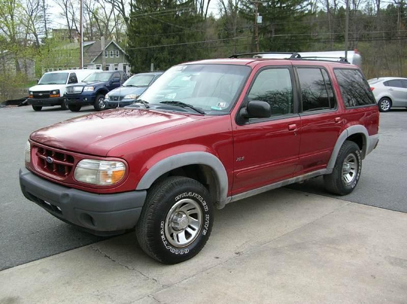 2000 Ford Explorer for sale at Lee Miller Used Cars & Trucks Inc. in Germansville PA