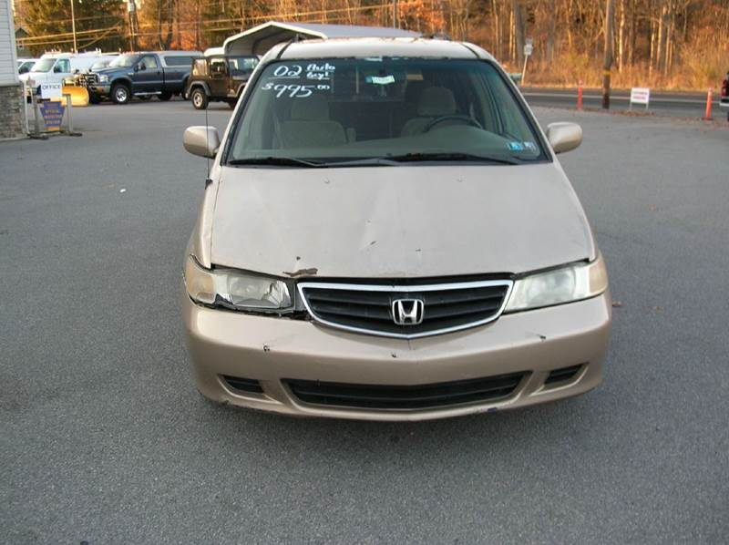 2002 Honda Odyssey for sale at Lee Miller Used Cars & Trucks Inc. in Germansville PA