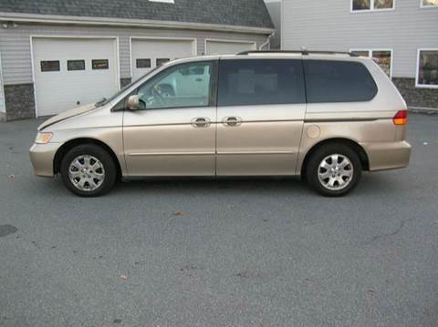 2002 Honda Odyssey for sale at Lee Miller Used Cars & Trucks Inc. in Germansville PA