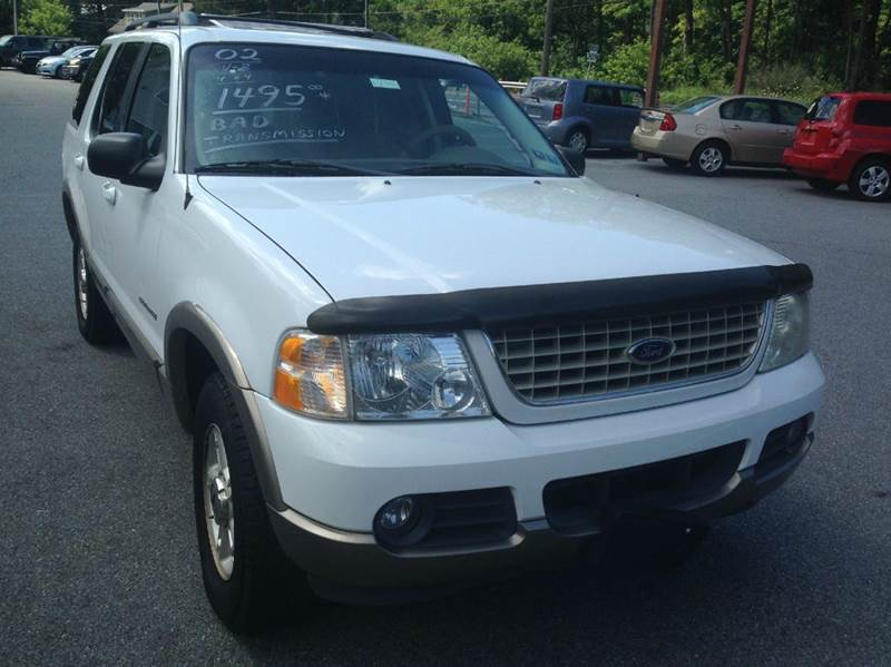 2002 Ford Explorer for sale at Lee Miller Used Cars & Trucks inc. in Germansville PA