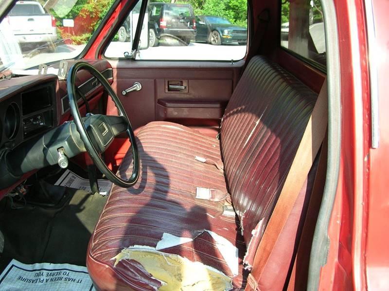 1987 Chevrolet C/K 30 Series for sale at Lee Miller Used Cars & Trucks Inc. in Germansville PA