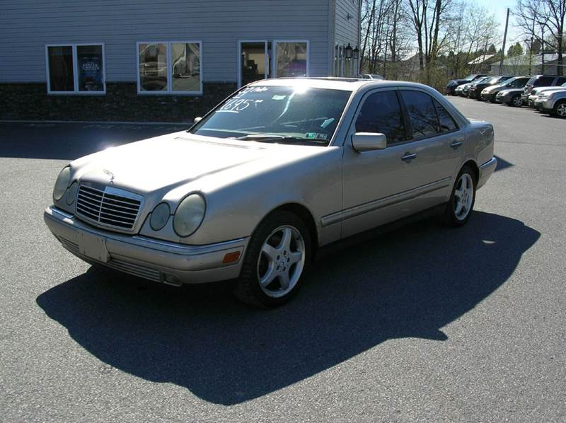 1999 Mercedes-Benz E-Class for sale at Lee Miller Used Cars & Trucks inc. in Germansville PA
