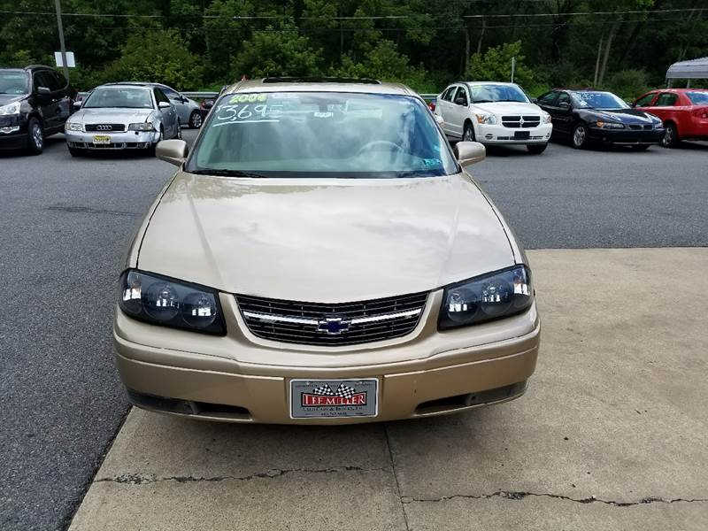 2004 Chevrolet Impala for sale at Lee Miller Used Cars & Trucks Inc. in Germansville PA
