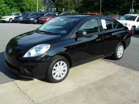 2013 Nissan Versa for sale at Lee Miller Used Cars & Trucks Inc. in Germansville PA