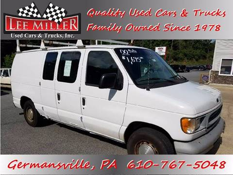 2000 Ford E 150 For Sale In Germansville PA