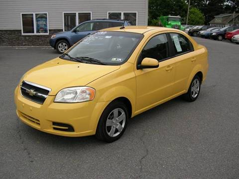 2009 Chevrolet Aveo for sale at Lee Miller Used Cars & Trucks Inc. in Germansville PA