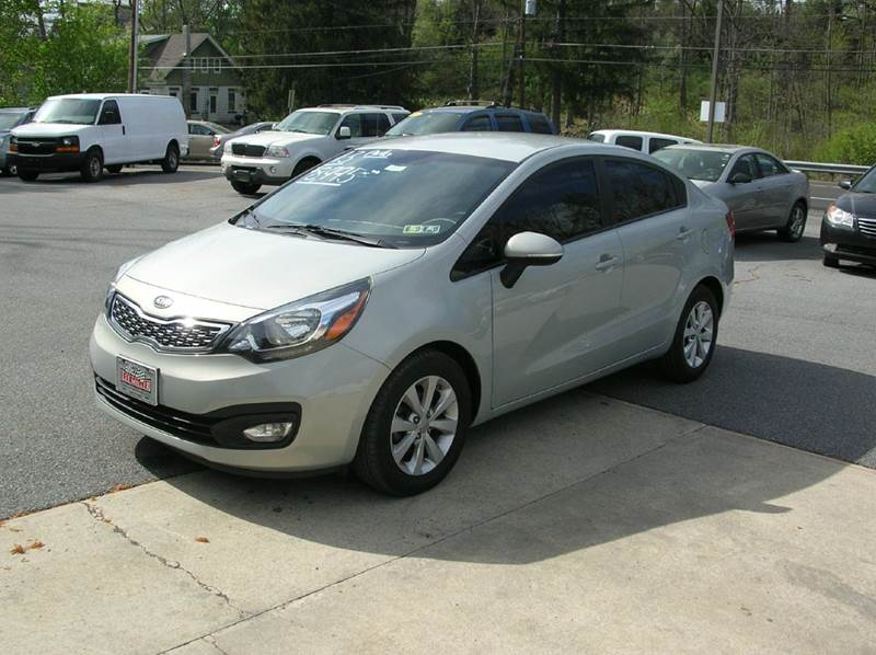2013 Kia Rio for sale at Lee Miller Used Cars & Trucks inc. in Germansville PA