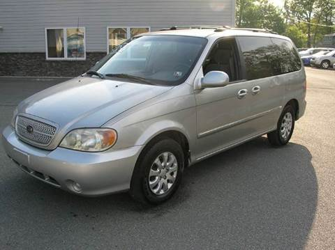 2004 Kia Sedona for sale at Lee Miller Used Cars & Trucks Inc. in Germansville PA