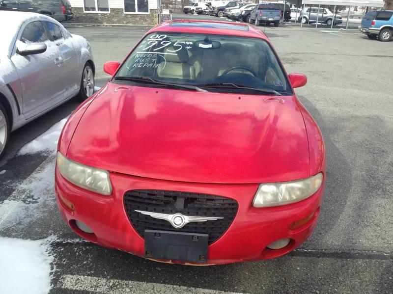 2000 Chrysler Sebring for sale at Lee Miller Used Cars & Trucks inc. in Germansville PA