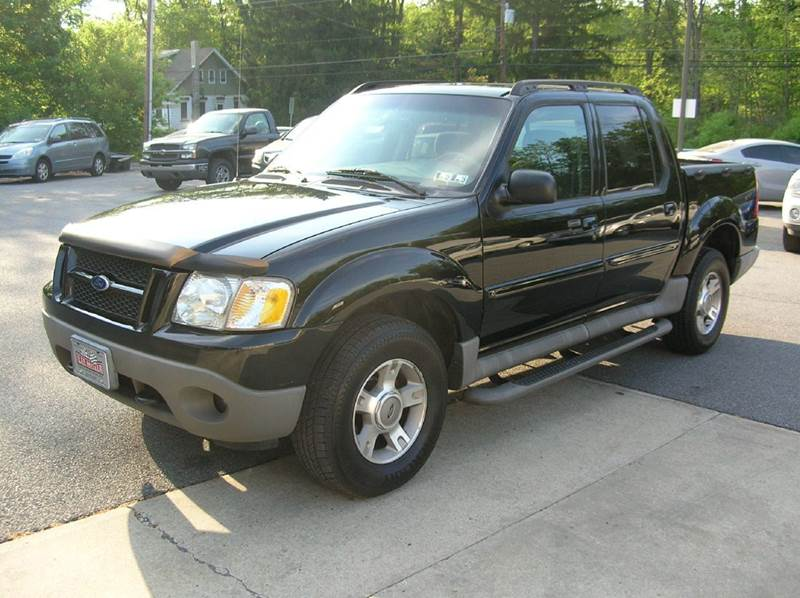 2003 Ford Explorer Sport Trac for sale at Lee Miller Used Cars & Trucks inc. in Germansville PA