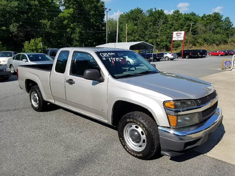 2008 Chevrolet Colorado for sale at Lee Miller Used Cars & Trucks Inc. in Germansville PA