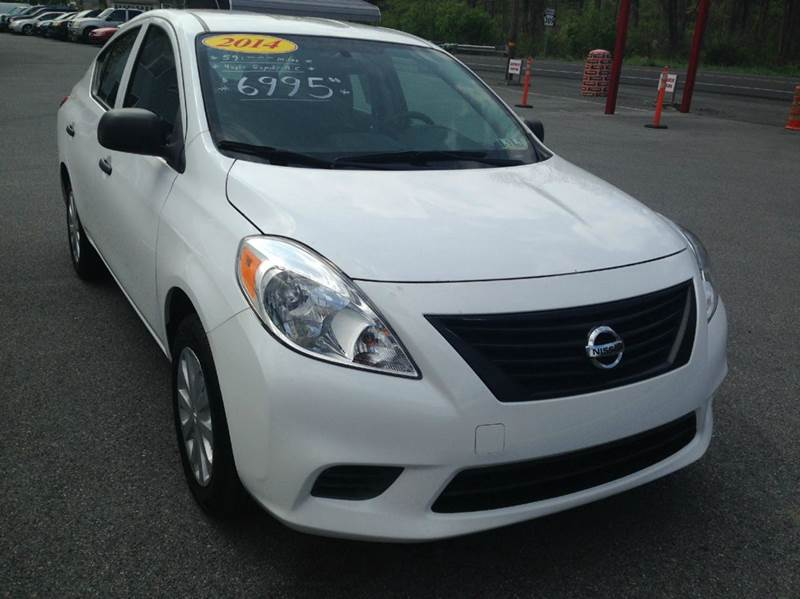 2014 Nissan Versa for sale at Lee Miller Used Cars & Trucks inc. in Germansville PA