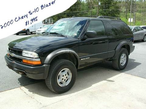 2000 Chevrolet Blazer for sale at Lee Miller Used Cars & Trucks Inc. in Germansville PA