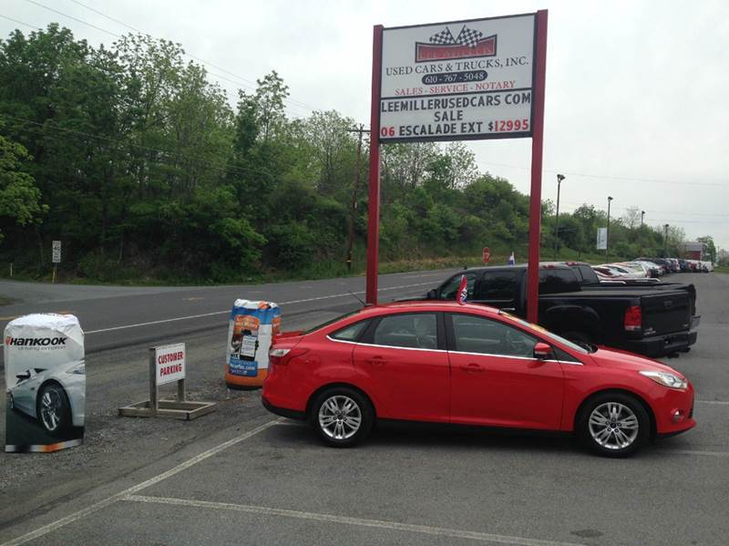 2012 Ford Focus for sale at Lee Miller Used Cars & Trucks inc. in Germansville PA