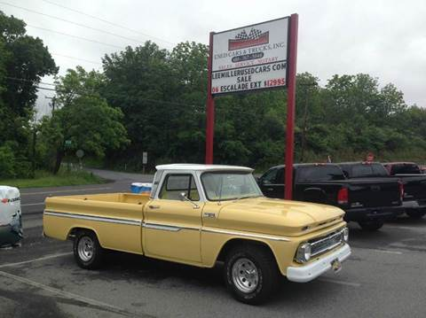 1965 Chevrolet C/K 10 Series for sale at Lee Miller Used Cars & Trucks Inc. in Germansville PA