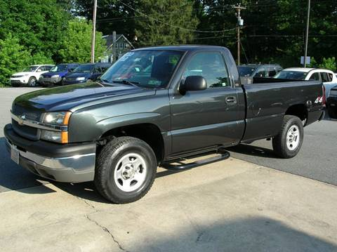 2004 Chevrolet Silverado 1500 for sale at Lee Miller Used Cars & Trucks inc. in Germansville PA