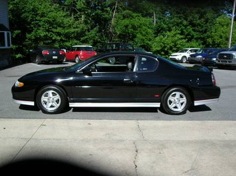 2003 Chevrolet Monte Carlo for sale at Lee Miller Used Cars & Trucks inc. in Germansville PA