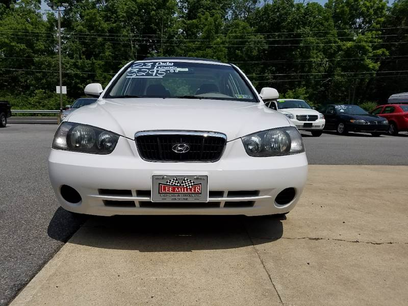 2003 Hyundai Elantra for sale at Lee Miller Used Cars & Trucks Inc. in Germansville PA