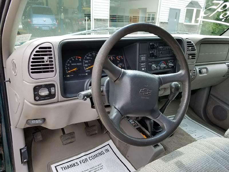 1998 Chevrolet C/K 1500 Series for sale at Lee Miller Used Cars & Trucks Inc. in Germansville PA
