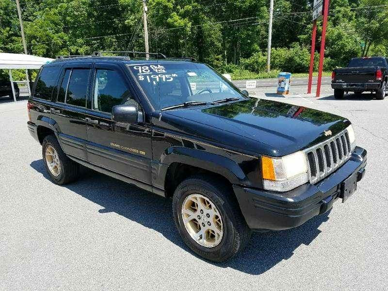 1998 Jeep Grand Cherokee for sale at Lee Miller Used Cars & Trucks Inc. in Germansville PA