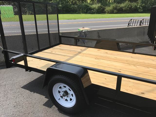 2017 MENTZER LANDSCAPE 12ft. for sale at Lee Miller Used Cars & Trucks Inc. in Germansville PA