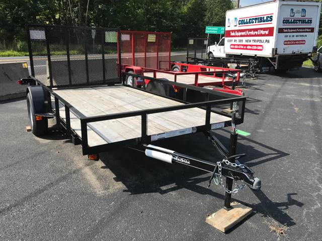 2016 APPALACHAIN LANDSCAPE 10ft. for sale at Lee Miller Used Cars & Trucks Inc. in Germansville PA