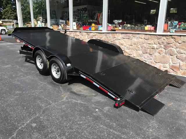 2017 APPALACHAIN CAR HAULER  20ft TILT, 10000lb for sale at Lee Miller Used Cars & Trucks Inc. in Germansville PA