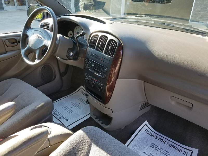 2002 Chrysler Town and Country for sale at Lee Miller Used Cars & Trucks Inc. in Germansville PA