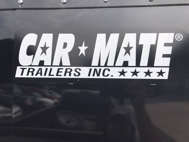 2018 Car Mate Sportster Cargo 6 x 12 for sale at Lee Miller Used Cars & Trucks Inc. in Germansville PA
