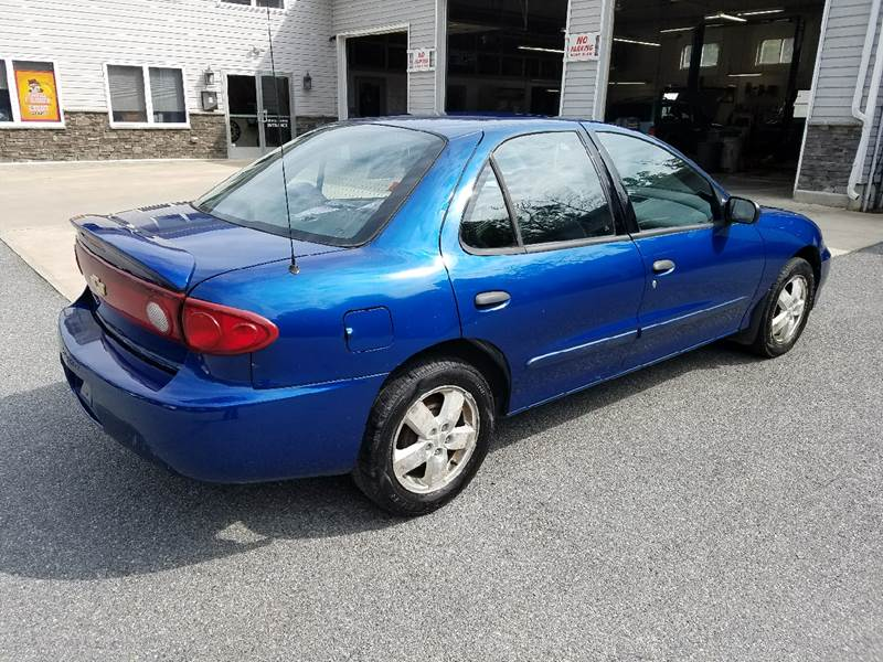2004 Chevrolet Cavalier for sale at Lee Miller Used Cars & Trucks Inc. in Germansville PA