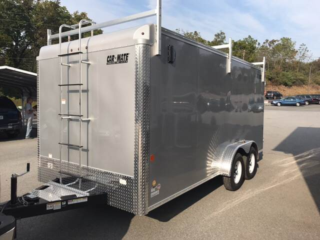 2018 Car Mate HD Contractor trailer 7 x 16 for sale at Lee Miller Used Cars & Trucks Inc. in Germansville PA