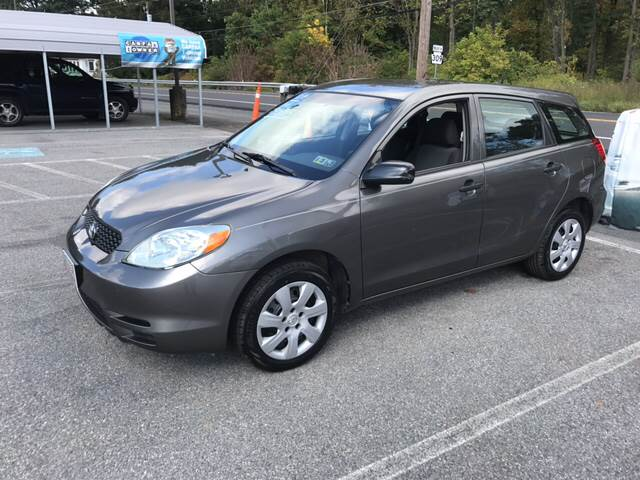 2004 Toyota Matrix for sale at Lee Miller Used Cars & Trucks Inc. in Germansville PA