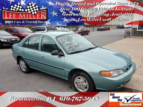 1999 Ford Escort for sale in Germansville, PA