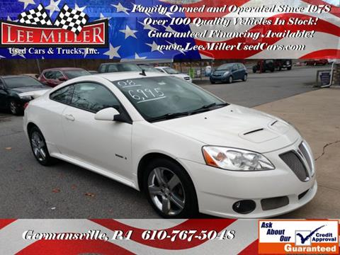 2008 Pontiac G6 for sale in Germansville, PA