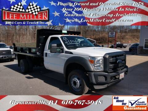 2013 Ford F-450 Super Duty for sale at Lee Miller Used Cars & Trucks Inc. in Germansville PA