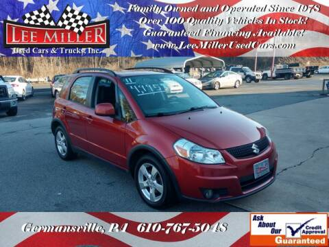 2011 Suzuki SX4 Crossover for sale at Lee Miller Used Cars & Trucks Inc. in Germansville PA