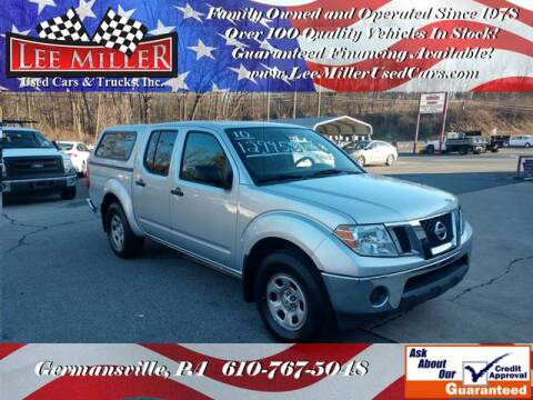 2010 Nissan Frontier for sale at Lee Miller Used Cars & Trucks Inc. in Germansville PA