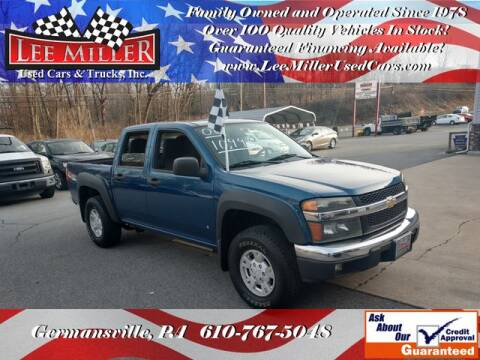 2006 Chevrolet Colorado LT for sale at Lee Miller Used Cars & Trucks Inc. in Germansville PA