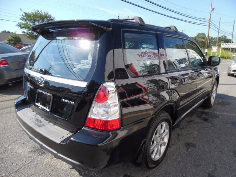 2007 Subaru Forester AWD 2.5 X Premium Package 4dr Wagon (2.5L F4 4A) - Charlotte NC