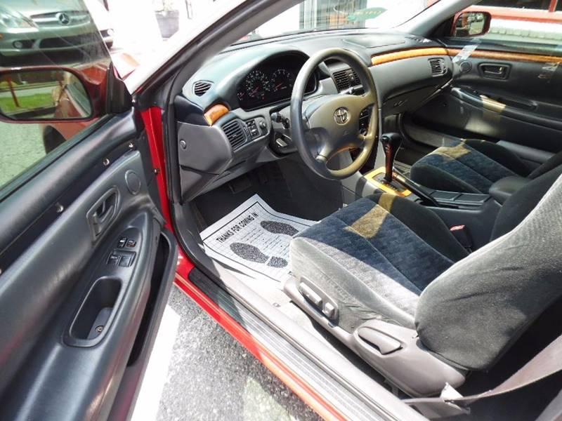 2002 Toyota Camry Solara SE 2dr Coupe - Charlotte NC
