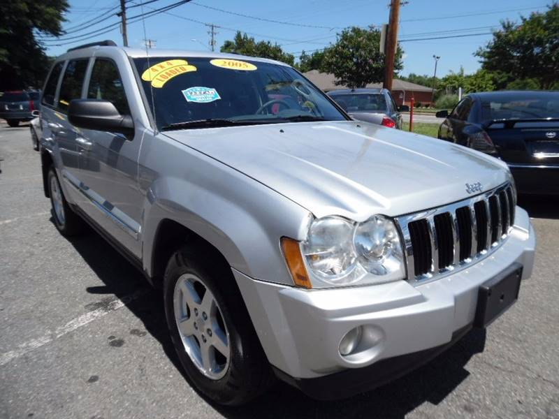 2005 Jeep Grand Cherokee 4dr Limited 4WD SUV - Charlotte NC
