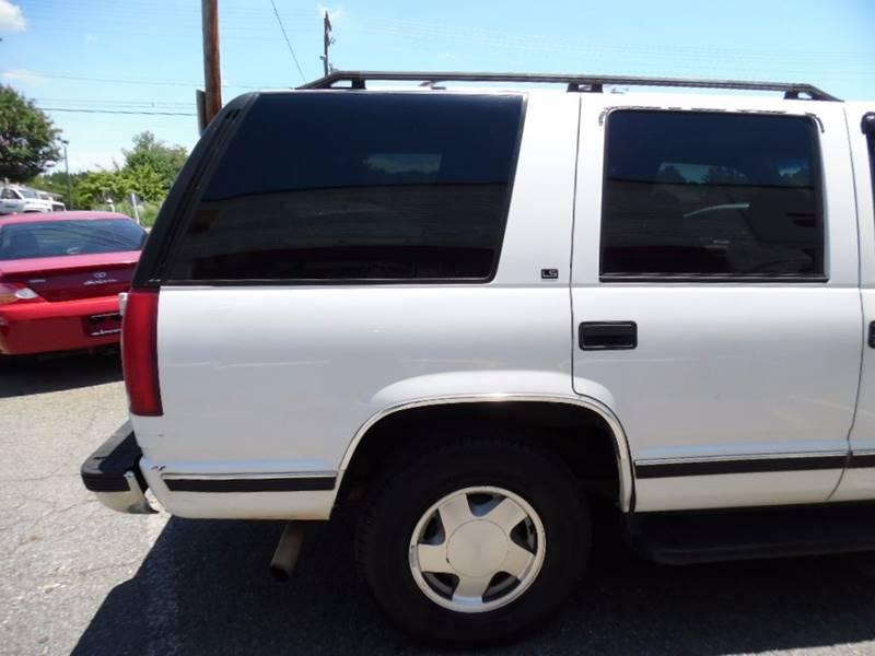 1997 Chevrolet Tahoe 4dr LS 4WD SUV - Charlotte NC