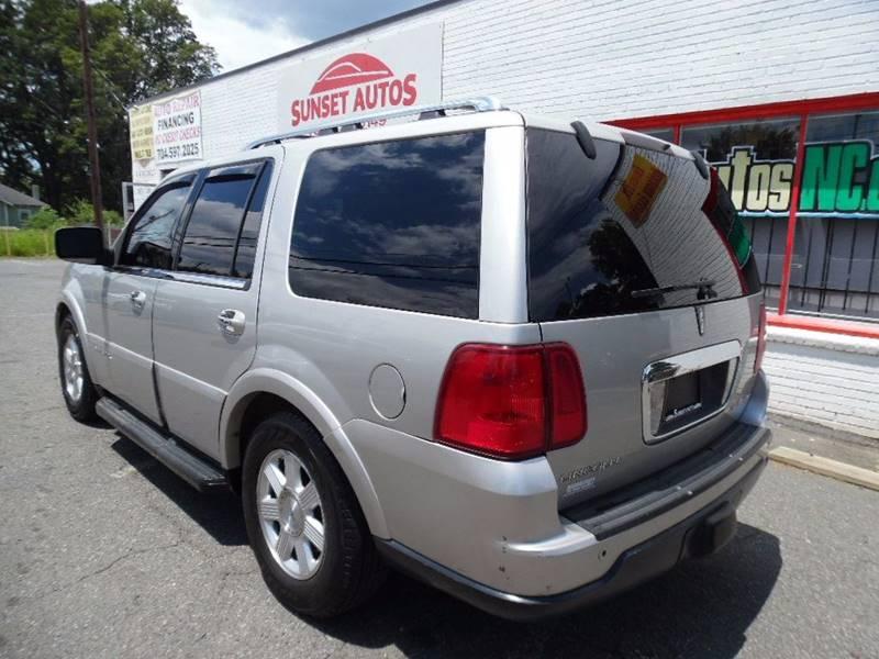 2005 Lincoln Navigator Luxury 4WD 4dr SUV - Charlotte NC