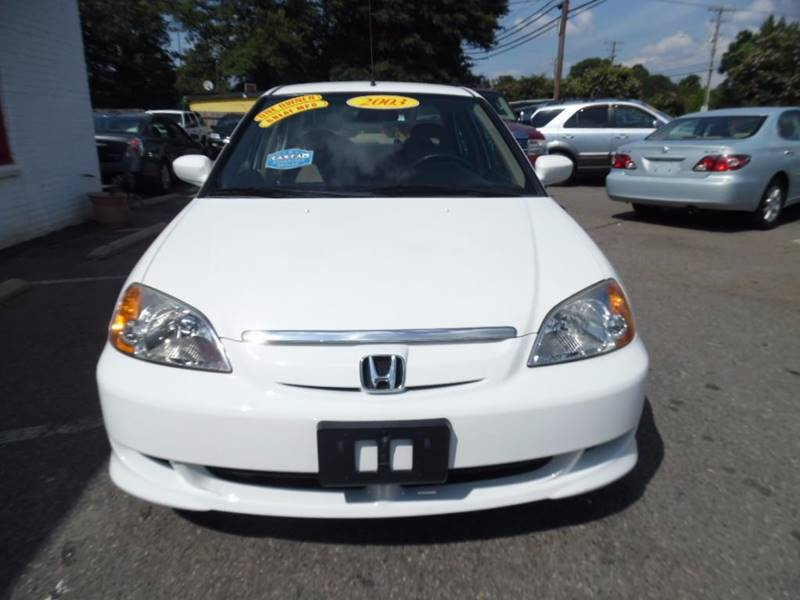 2003 Honda Civic Hybrid 4dr Sedan - Charlotte NC