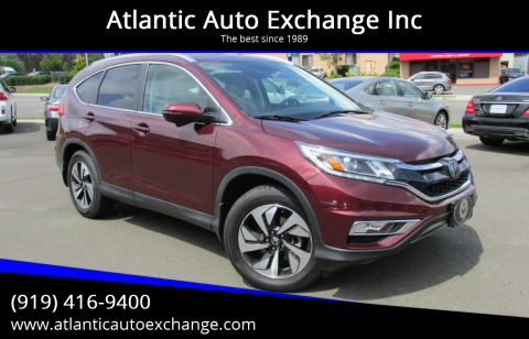 2016 Honda CR-V for sale at Atlantic Auto Exchange Inc in Durham NC
