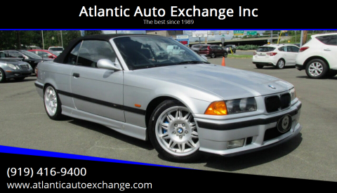 1999 BMW M3 for sale at Atlantic Auto Exchange Inc in Durham NC